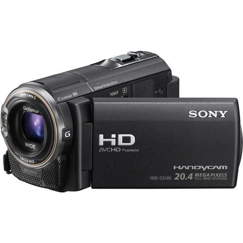 Sony HDR CX 580 no hood
