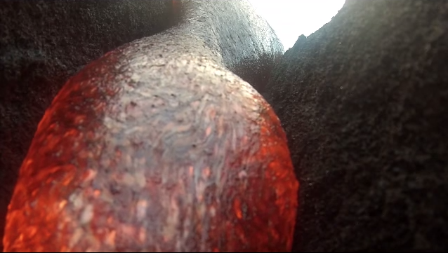 The GoPro That Survived Lava