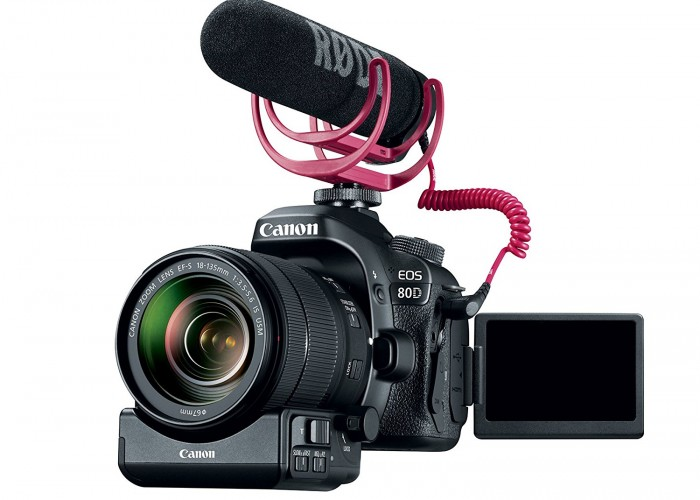 Holiday Gift Guide: Canon EOS 80D Video Creator Kit