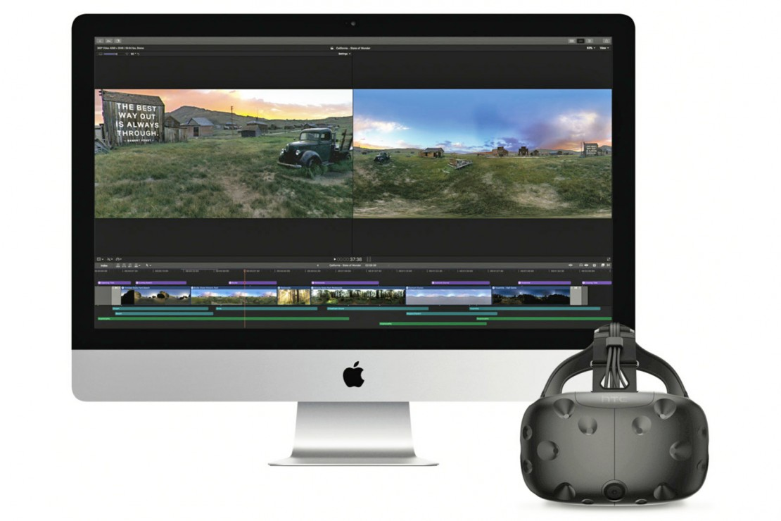 Apple Launches Final Cut Pro X VR Update